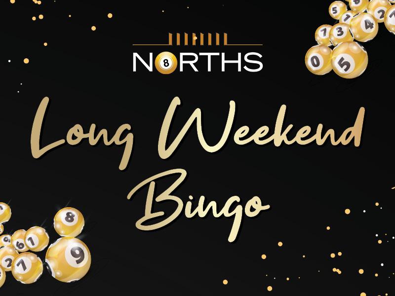 Long Weekend Bingo